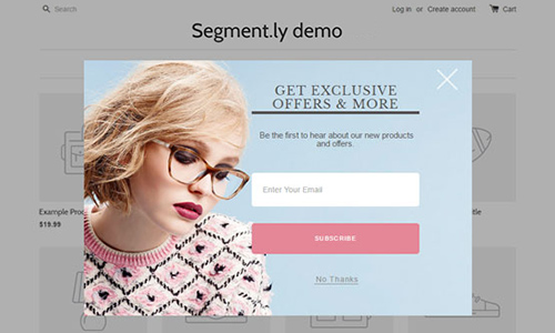 Segmently app for Shopify